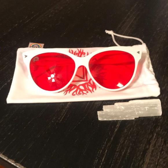 de46f4913b5c Rainbow OPTX Cat Eye Sunglasses ❤ 🌈✨. M 5b9aa23ac89e1dea1fa833b5. Other  Accessories ...